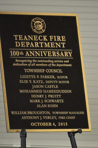 Fire Department Anniversary Celebrations