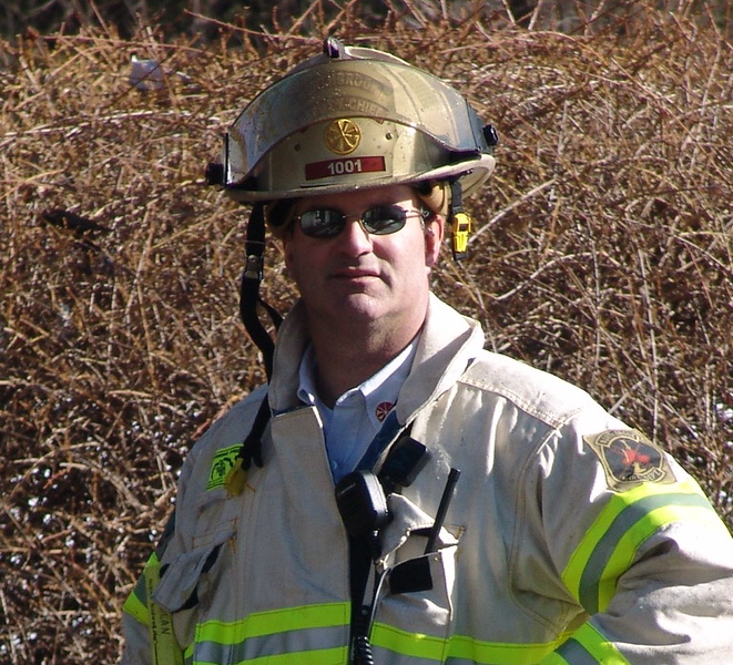 Northbrook Fire Department Deputy Chief Mark Nolan  Nbrk 1001