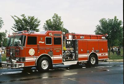 Photo's from  Little Ferry Fire Dept. Wetdown Engine 308 9-22-07