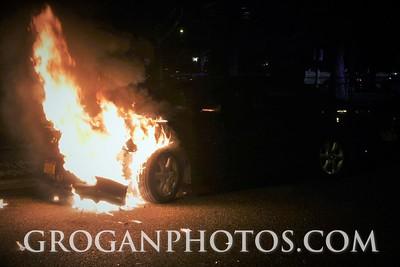 Dewitt Car Fire