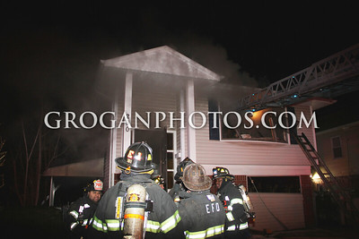 Lehrer Ave House Fire 1/15/15