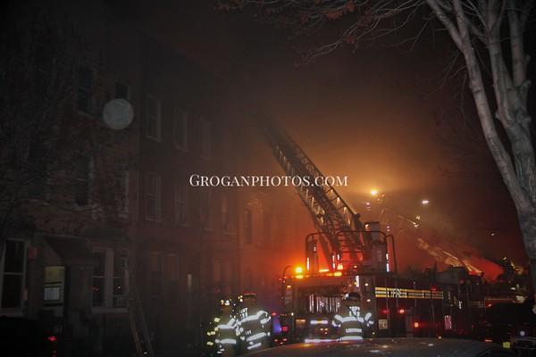 Brooklyn 6th Alarm  Box 746 1427 Dekalb Ave 3/29/16