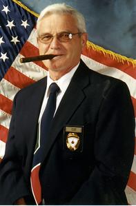 Joe Bird with a cigar