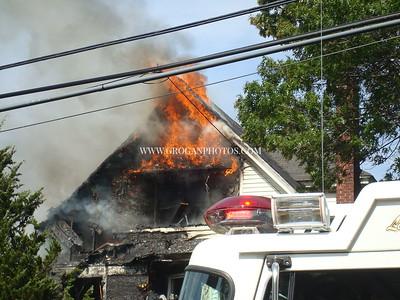 Miller Ave House Fire 6-25-08