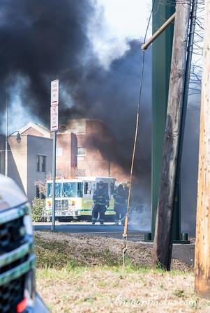 Sunrise Hwy Car Fire 3/24/19