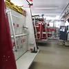 Hose 225 , Engine 224, Ladder 223 in order
