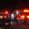 Island Park Ladder 223 behind Long Beach Engine 43