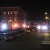 Long Beach was called to a report of a building fire on shore and monroe