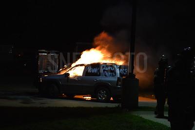 Car Fire Drill