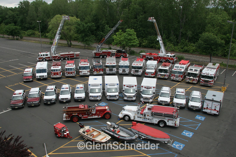 2006 Triboro equipment photo, featuring Oradell Fire Dept, River Edge Fire Dept & New Milford Fire Department of NJ
