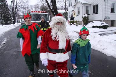 Oradell FD Santa Sunday 2008