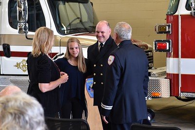 Mishawaka Fire Department - Chief Woodward Pinning Ceremony  4/14/16