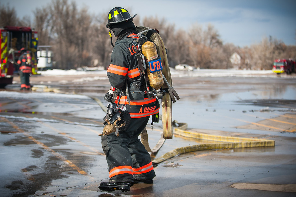 Loveland Fire Department - Ice & Cold Water Rescue. Boyd Lake - Loveland, Colorado. December 22, 2013
