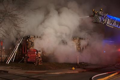 MFD Fire Scene - 1213 Lincolnway West  (Francesco's Restaurant)