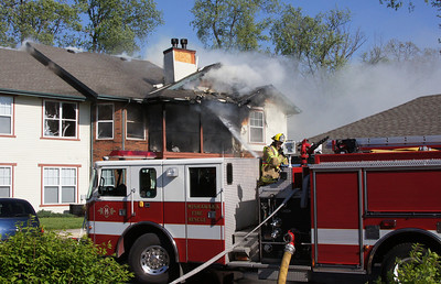MFD Fire Scene - 5600 Town Center Drive