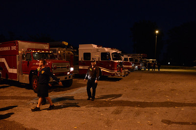 MFD Night Dive Training  10/09/13