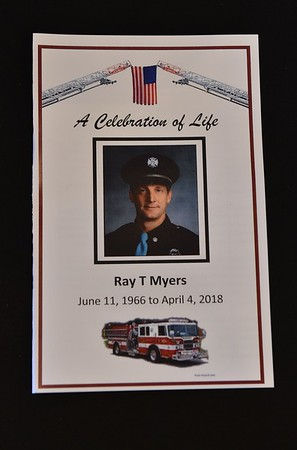 Memorial Service for Mishawaka Firefighter Ray Myers