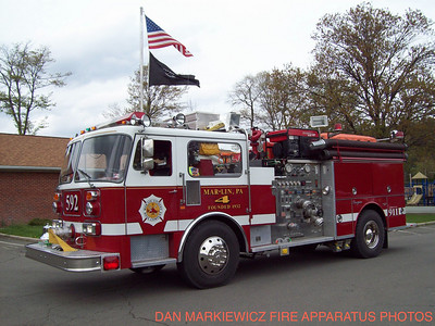 MAR-LIN CITIZENS HOSE CO FORMER ENGINE 592 1985 SEAGRAVE PUMPER