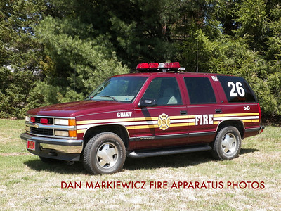 RYAN TWP. FIRE & RESCUE CO. UNIT 26-70 2001 CHEVY PERSONNEL CARRIER
