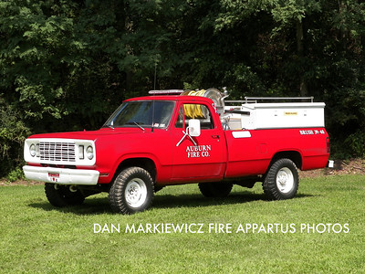 AUBURN FIRE CO. FORMER BRUSH 39-40 1977 DODGE/AFC BRUSH UNIT