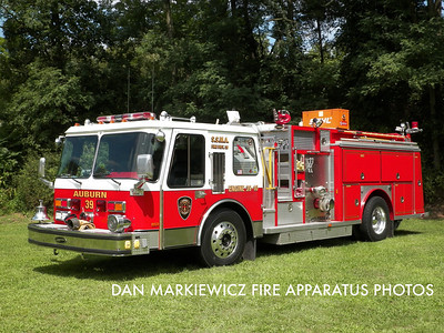 AUBURN FIRE CO. ENGINE 39-10 1986 E-ONE PUMPER