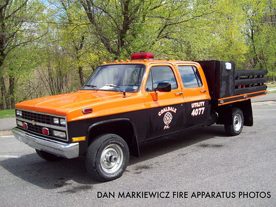 VOLUNTEER FIRE CO. UTILITY 40-77 1991 CHEVY/VFC UTILITY