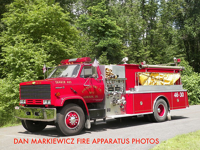 CITIZENS FIRE CO. TANKER 46-30 1990 CHEVY/KME TANKER