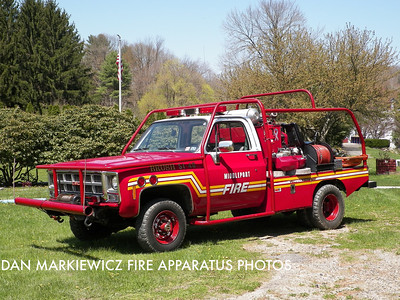 CITIZENS FIRE CO. FORMER BRUSH 51-40 1978 GMC/MTPFC BRUSH UNIT