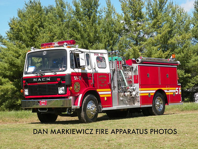 CITIZENS FIRE CO. FORMER ENGINE 51-11 1983 MACK/WARD PUMPER