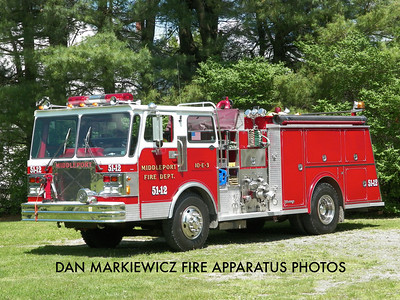 CITIZENS FIRE CO. ENGINE 51-12 1986 SPARTAN/YOUNG PUMPER