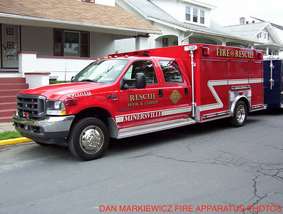 MINERSVILLE FIRE & RESCUE CO.