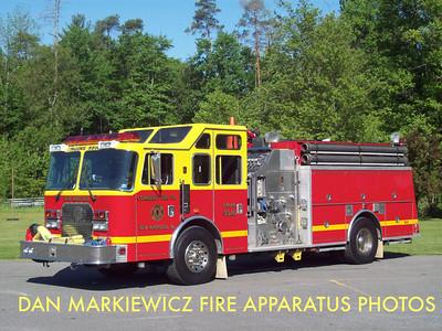 COMMUNITY FIRE CO. ENGINE 55-10 1997 KME PUMPER