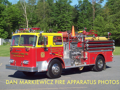 COMMUNITY FIRE CO. ENGINE 55-13 1973 SEAGRAVE PUMPER