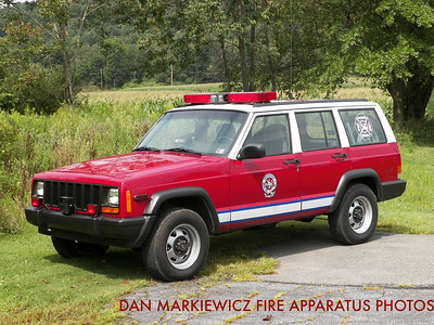 FRIENDSHIP HOSE CO. CAR 56 1997 JEEP/FHC DUTY OFFICER UNIT