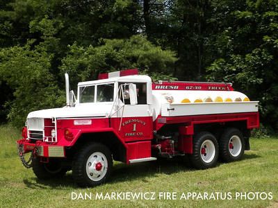 TREMONT FIRE CO. BRUSH 67-40 1958 CURTIS WRIGHT/01 TFC TANKER