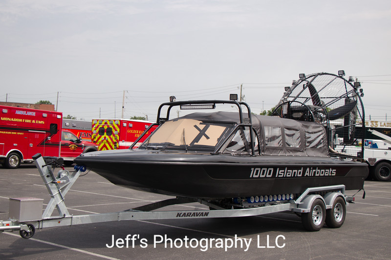 1000 Island Airboats 24' Search & Rescue Airboat Demo