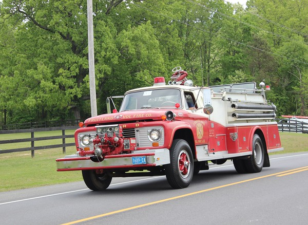 Fruitland Volunteer Fire Department Pumper