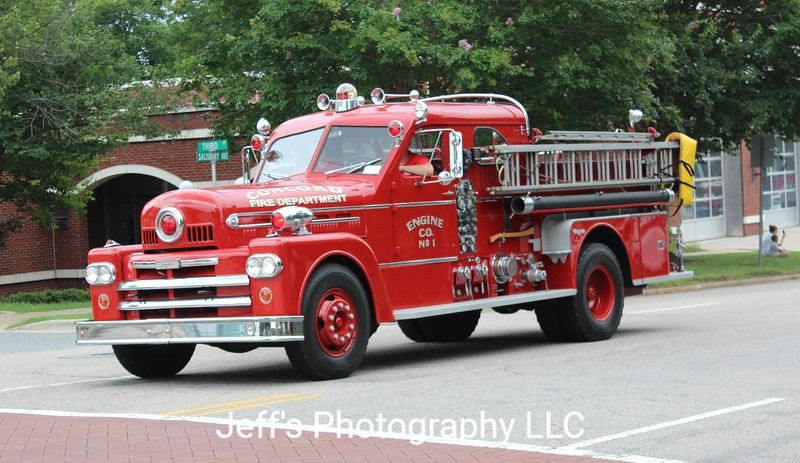 Concord Fire Department Pumper