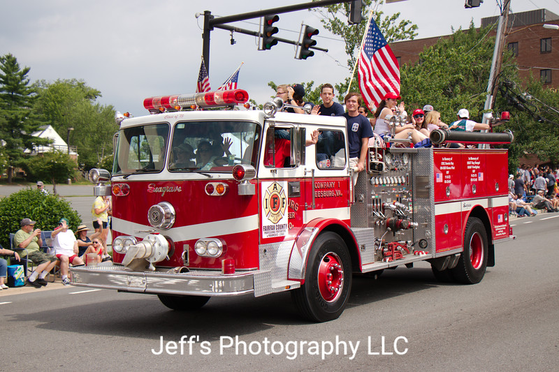 Leesburg Volunteer Fire Company Pumper