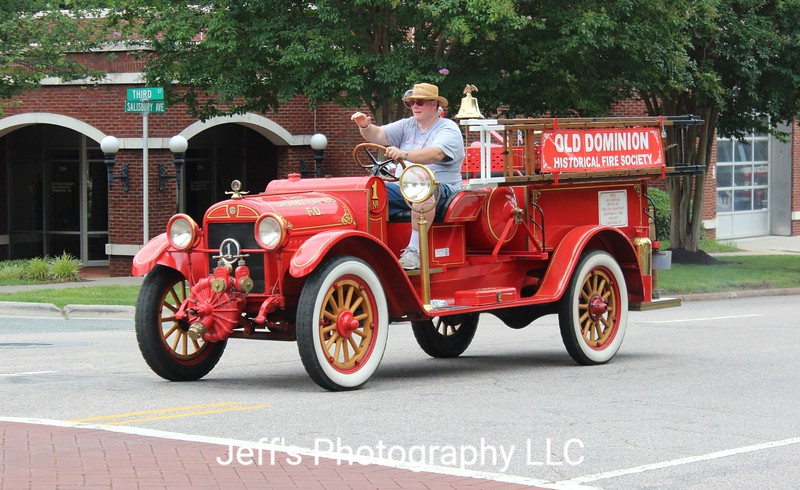 Old Dominion Historical Fire Society Pumper