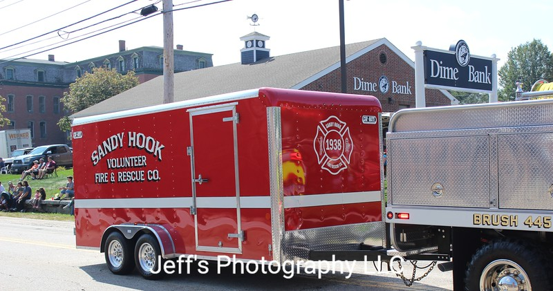Sandy Hook, CT Volunteer Fire & Rescue Trailer