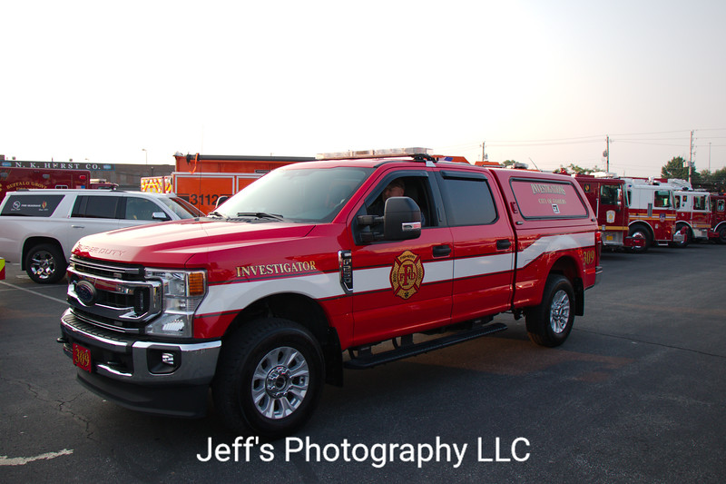 Fishers, IN Fire Department Fire Investigations Pickup Truck #309