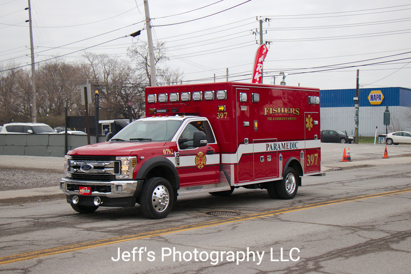 Fishers, IN Fire Department Ambulance #397