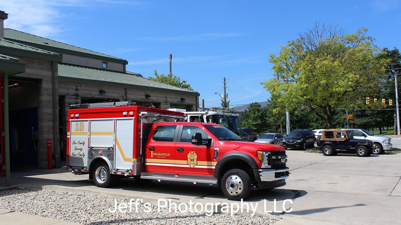 Indianapolis, IN Fire Department Rescue Engine #13