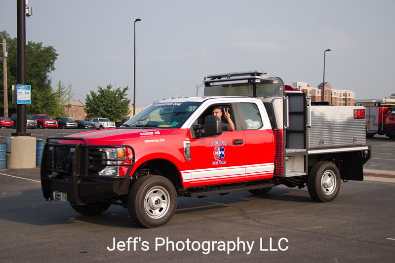 Burrton, KS Consolidated Fire District #5 Rescue Engine #45