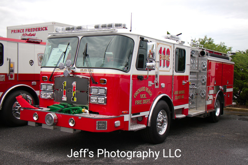 Orchard Beach Volunteer Fire Department, Glen Bernie, MD, Pumper #113