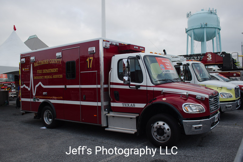 Baltimore County, MD Fire Department Ambulance #17