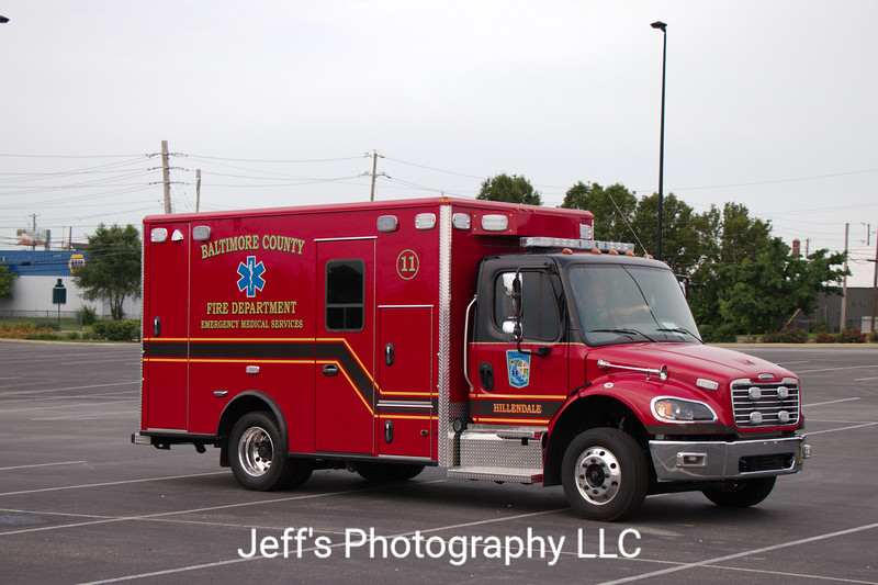 Baltimore County Fire Department - Hillendale, Baltimore, MD, Ambulance #11