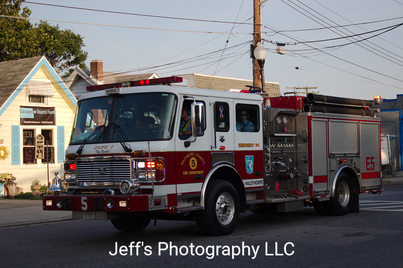 Baltimore County - Halethorpe, MD Fire Department Pumper #E5