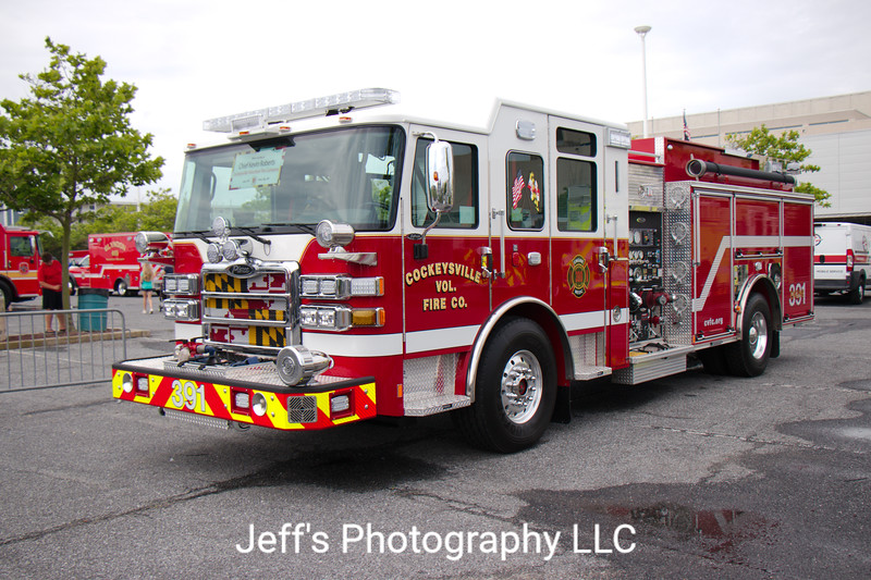 Cockeysville, MD Volunteer Fire Company Pumper #391